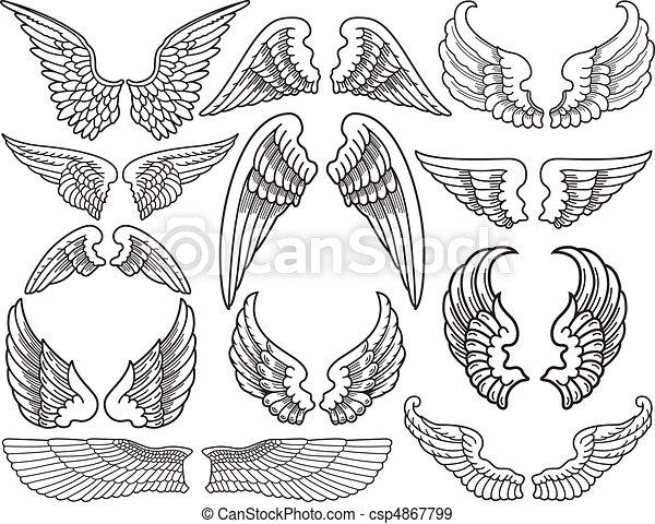 Alitas de ángel - csp4867799