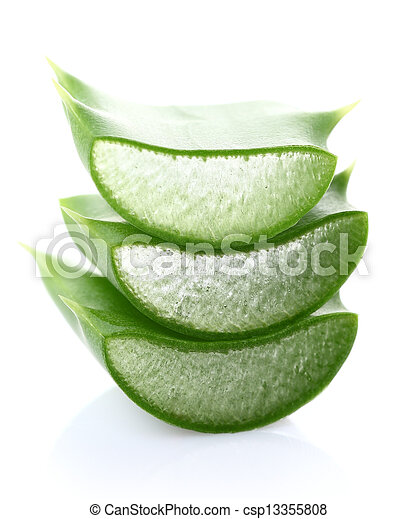 Aloe vera rebanada - csp13355808