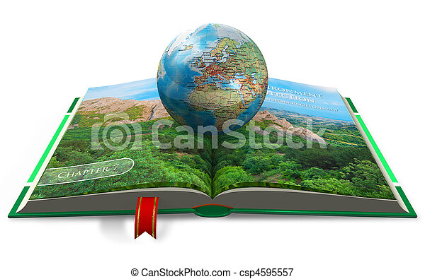 Concepto de protección del medio ambiente - csp4595557