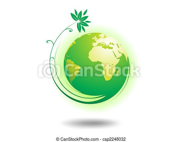 El globo ambiental - csp2248032