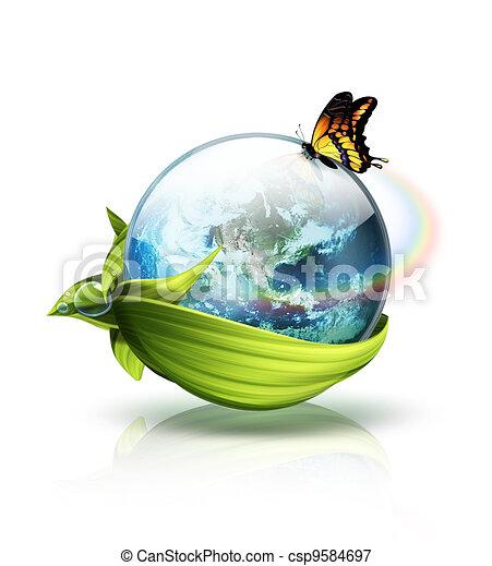Concepto planeta ambiental - csp9584697