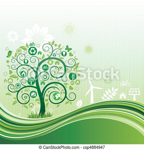Un ambiente natural - csp4884947