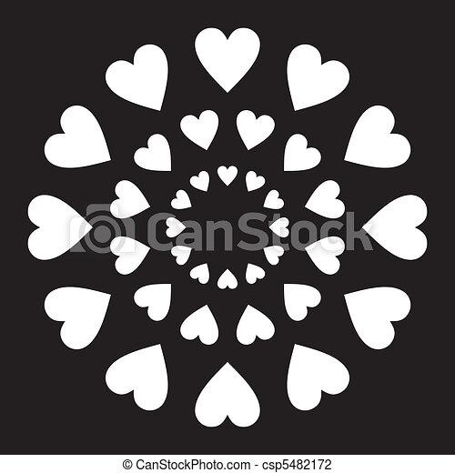 Amor en un círculo - csp5482172