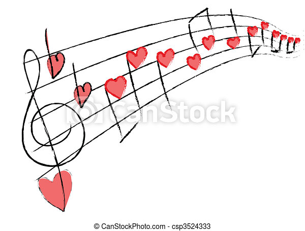 Me encanta la música - csp3524333