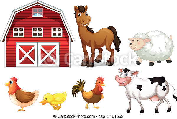 Animales de granja - csp15161662