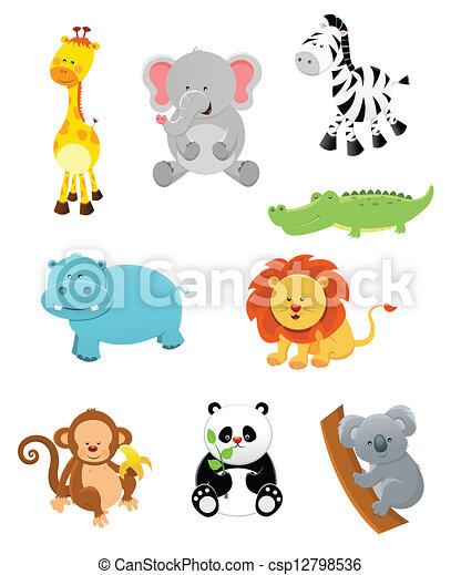 Animales Safari - csp12798536
