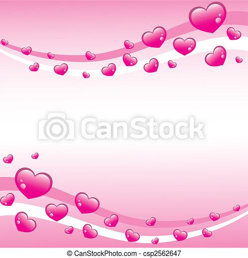 Antecedentes de San Valentín rosa - csp2562647