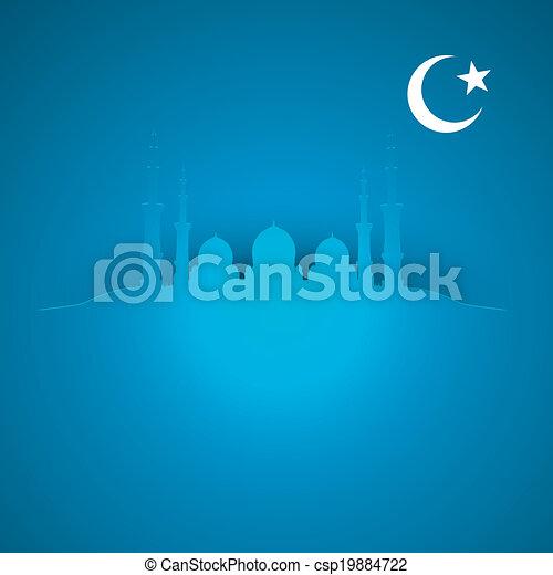 Antecedentes islámicos - csp19884722