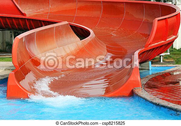 Aquapark desliza - csp8215825