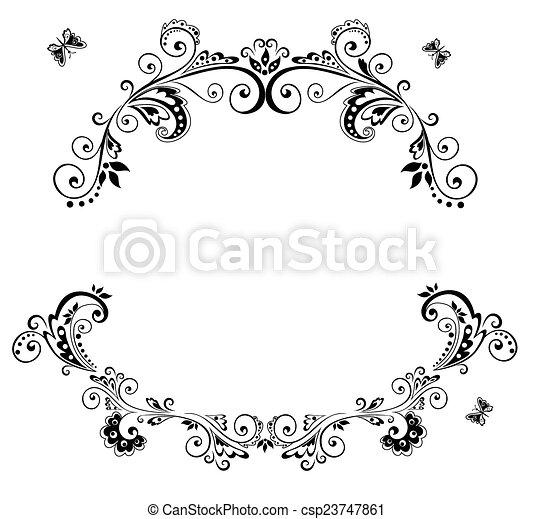 Arco de bodas - csp23747861
