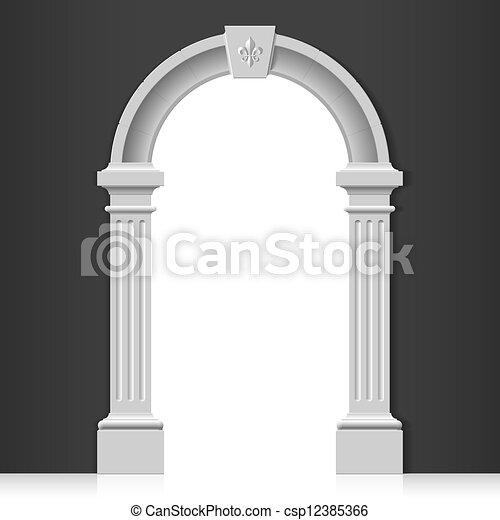 Un arco clásico - csp12385366