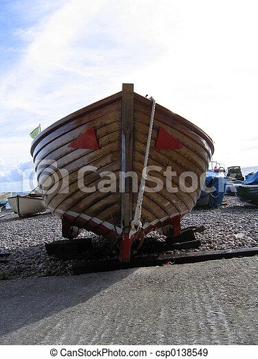 Arco de barco en Devon - csp0138549
