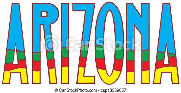 Arizona - csp13389057