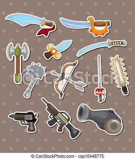 Adhesivos de armas - csp10448775