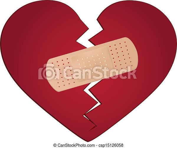 Arreglar un concepto de corazón roto - csp15126058