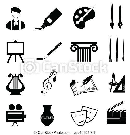 El icono de las artes - csp10521046
