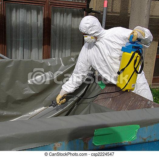 Asbesto 03 - csp2224547