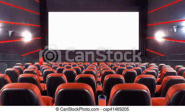 Auditorio de cine - csp41469205