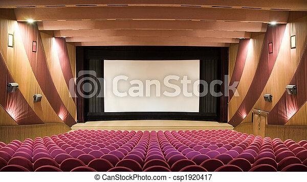 Auditorio de cine - csp1920417