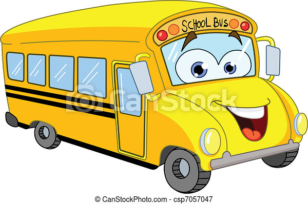 Autobús escolar - csp7057047