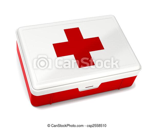 Kit de primeros auxilios - csp2558510