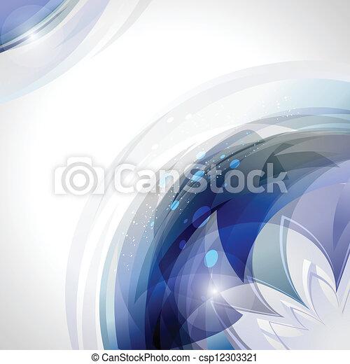 Movimiento azul - csp12303321