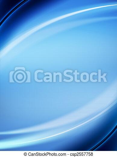 Un fondo abstracto azul - csp2557758