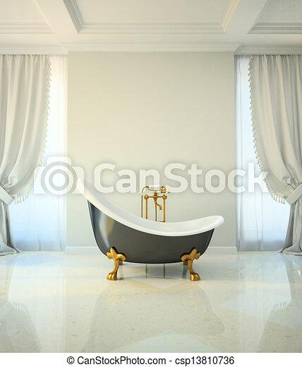 Baño en estilo clásico - csp13810736