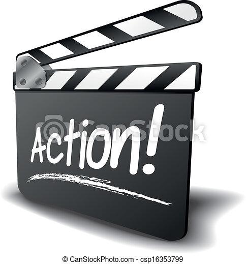 Acción de mesa de almejas - csp16353799