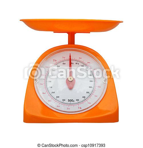 Medición de peso aislada - csp10917393