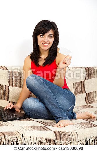 Bancos de Internet - csp13030698