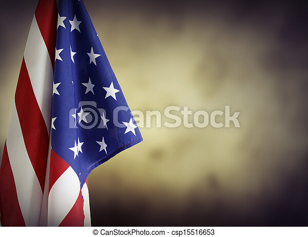 Bandera americana - csp15516653
