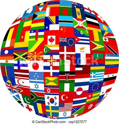 Globo Flag - csp1227077