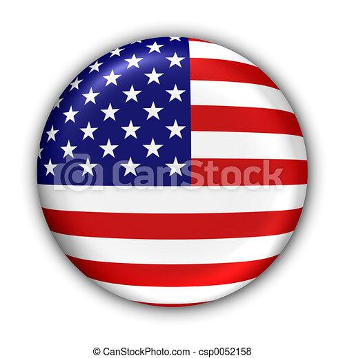 La bandera de EEUU - csp0052158