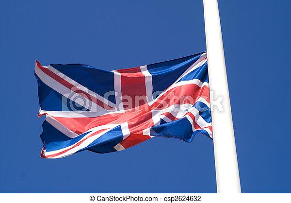 Una bandera del Reino Unido - csp2624632