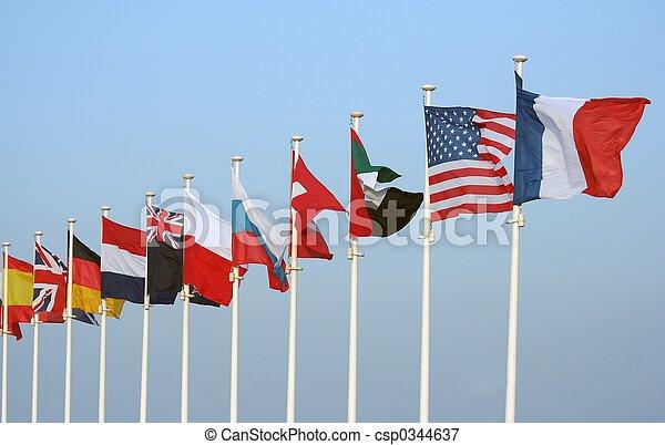Banderas - csp0344637