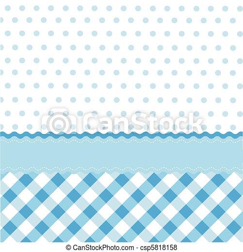 Patrón azul marino - csp5818158