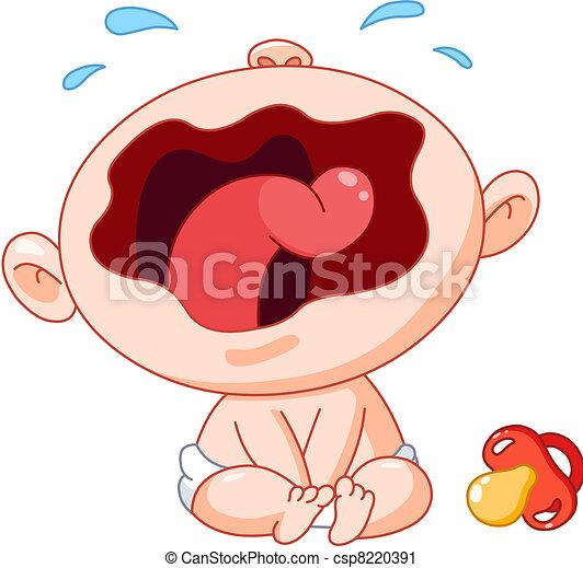 Bebé llorón - csp8220391