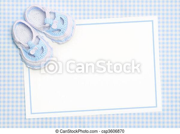 Nuevo anuncio de bebés - csp3606870