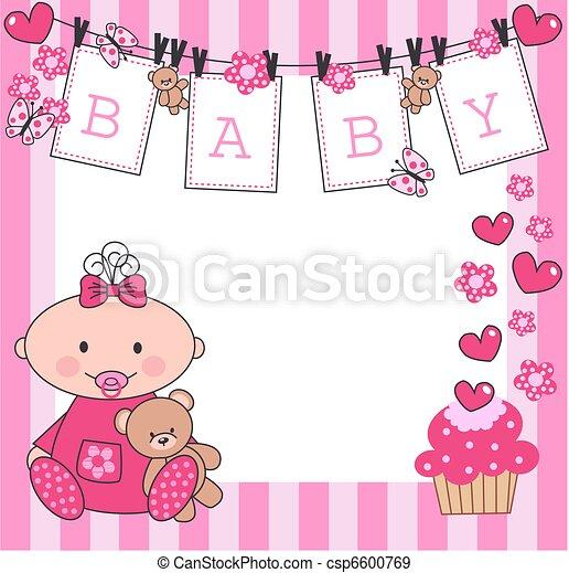 Bebé recién nacido - csp6600769