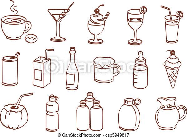 Beber icono - csp5949817