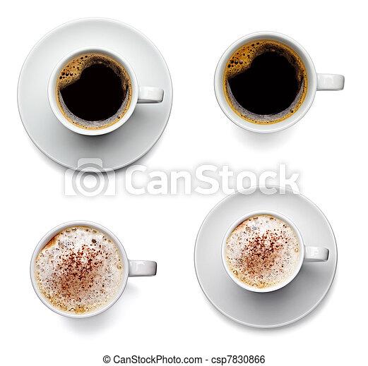 Una copa de café - csp7830866