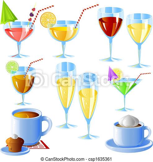 Bebidas listas - csp1635361