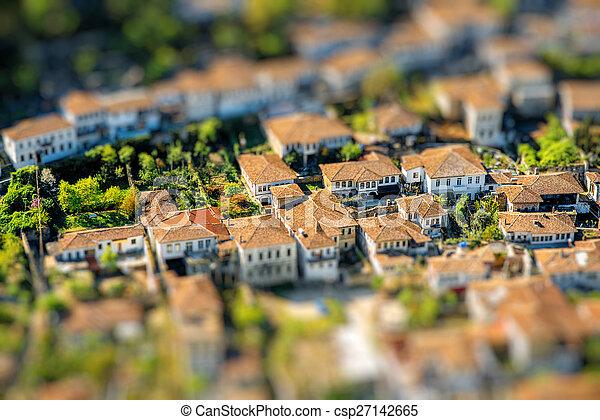 La ciudad de Berat - csp27142665