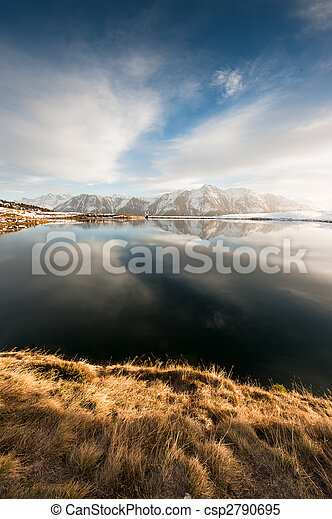 Lago en Bettmeralp - csp2790695
