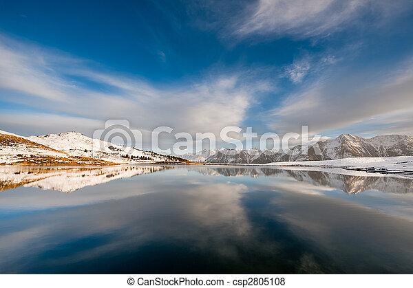 Lago en Bettmeralp - csp2805108