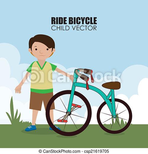 Diseño de bicicletas - csp21619705