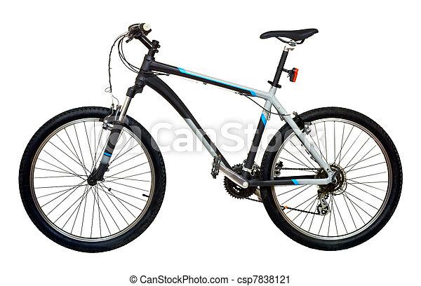 Una bicicleta de montaña - csp7838121