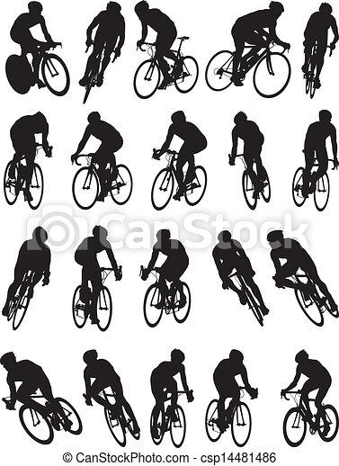 20 detalles de carreras de bicicletas - csp14481486