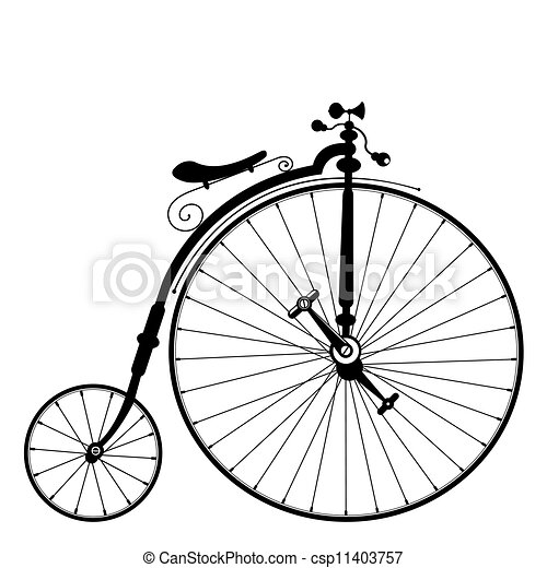 Vieja bicicleta - csp11403757